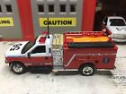 MATCHBOX FIRE FORD F 350 KME MINI PUMPER KITBASHED CUSTOM UNIT