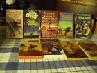 Lot of western misc collection of 9 western paperback books inv435bxa