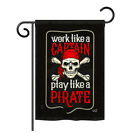 "Play Like a Priate - 13"" x 18.5"" Impressions Garden Flag - G135074"