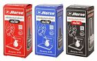 HORSE Refill Ink For Stamp Ink Pad Permanent Waterproof Black Blue Red 30 cc.