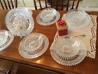 ANCHOR HOCKING Set of Six bowls/Seven plates........Beautiful condition
