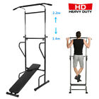 Weider Power Tower Exercise Home Gym Strength Pull Up  Push Up STATION Black QC