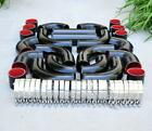 12 Pcs 3 Universal Black Intercooler Piping Silicone Coupler Clamp Kit