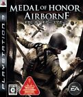 Medal Of Honor Airborne Japan Playstation3 2007 New