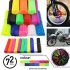 72X Wheel Spoke Wrap Skin Coat Trim Cover PiPe Motorcycke Motocross Dirt Bike US