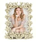 Floral Sophia Picture Frame by Ciel Collectables with Swarovski Crystal