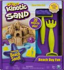Fast Shipping Kinetic Sand Beach Day Fun Playset With Molds And Tools