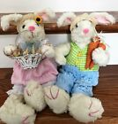 Mrs. Bunny Easter Bunny Fabric Bunnies Country Easter Decor