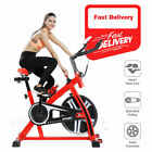 Exercise Spin Bike Home Gym Bicycle Spinning Cycling Cardio Body Fitness 13KG