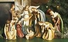 Roman 8 Pc 125H Royal Josephs Studio Religious Christmas Nativity Set 38901