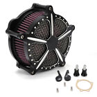 Air Cleaner Intake Filter Fit Harley Softail Dyna 883 Glide Rocker Touring 93 17
