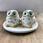 Dot Owl Ceramic Salt  Pepper Shakers Animal Decorative Salt and Pepper Shakers