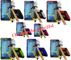 Heavy Duty Shock proof Builder Case Cover & Glass For Smasung Galaxy S3 ,S4 Mini