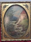 Oval Picture Frame Rectangular Glass Print Breath Of Spring Wind Fine Wood Ornat