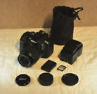 Nikon D5300 with 18 55mm lens only 5122 clicks 32GB SanDisk Ultra Plus