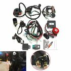 Full Electrics Wiring Harness CDI 50cc 70cc 110cc 125cc ATV Remote Start Switch