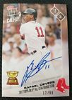 2017 Topps Now Call-Up All-Star Rookie Red Sox Rafael Devers Auto 99