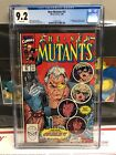 NEW MUTANTS #87 CGC 9.2, 1st App CABLE in the DEADPOOL Movie! X-FORCE!