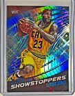 2015-16 Panini Revolution LEBRON JAMES Showstoppers Blue Cavs #3 SP Rare 35 100