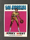 1971-72 Topps Basketball #50 Jerry West Los Angeles Lakers HOF NM
