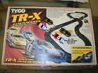 4 CAR TEAM RACING TR-X- 100% COMPLETE & TESTED - VINTAGE TYCO SLOT TRACK SET PRO
