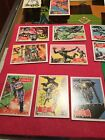 1966 Topps Complete RED BAT Batman Set Of 44 Cards