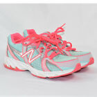 New Balance Girls Youth 550 Running Athletic Sneakers SIZE 5 Aqua Pink