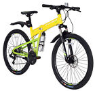 Mens 26 Mountain folding Bikes Bicycles 21 Sps SHIMANO COLLECTION ONLY