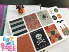 PP117 Halloween Boxes Icons Life Planner Stickers for Erin Condren 12pcs