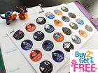 PP329 Halloween Icons Things To Do Planner Stickers for Erin Condren 24pcs