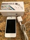 Apple iPhone 4S - 16GB - Smart Phone White (AT&T) A1387 (CDMA + GSM) LN