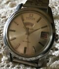 Rare Vintage TITUS Citomatic Auto Day Date 41 Jewels Mens Watch Working