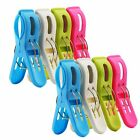 8 Pack Ipow Beach Towel Clips,Plastic Quilt Hanging Clips Clamp Holder for Beach