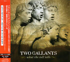 TWO GALLANTS What The Toll Tells +2 RARE JAPAN CD OBI VSO-0025