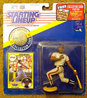 San Francisco GIANTS -- KEVIN MITCHELL -- 1991 Starting Lineup & COLLECTORS COIN
