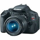 Canon EOS Rebel T3i 18MP DSLR Camera with 18 55mm Lens 5169B003 FREE SHIPPING