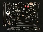 Vintage Sterling Silver Jewelry Lot Over 153 Grams Scrap