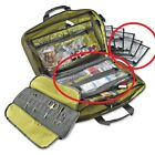 Orvis Safe Passage Fly 3 Clear Zippered Removable Pouches Clear Travel Bag TSA
