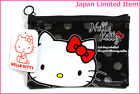 DAISO JAPAN Hallo Kitty Kawaii Vinyl Mesh Case BLACK Japan limited item verycute