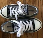 Converse Kids Boy Girl All Star Gray Sneakers Size 12