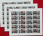Three Sheets x 20  60 of ABRAHAM LINCOLN 42 US Postage Stamps Sc  4380 4383