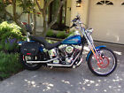 2005 Harley Davidson Softail Gorgeous Blue Harley Softail Springer Excellent Cond 7300 miles Ready to Ride