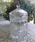 INDIANA GLASS PRINCESS STACKING CANDY APOTHOCARY DISH ~ 3 PC