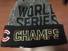 Chicago Cubs New Era 2016 World Series Champs Championships Beanie Knit Cap Hat