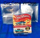 Hot Wheels PROTECH Car Case VINTAGE EDITION 10ct Redlines  50th Anniversary