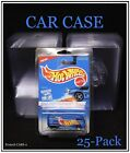 Hot Wheels Car Case by PROTECH 25ct Bundle Of Protectors