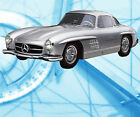Auto Drawings Scale 1/12 1/16 1/24 & 1/32 MERCEDES-BENZ 300SL Digital plan on cd