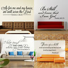 Bible Verse Vinyl Wall Decals Bible Stickers Removable Scripture Quote Art Decor