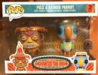 Disney Parks Exclusive Enchanted Tiki Room Pele Barker Parrot Funko Pop Set New
