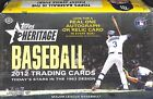 2012 Topps Heritage Baseball Sealed Hobby Box